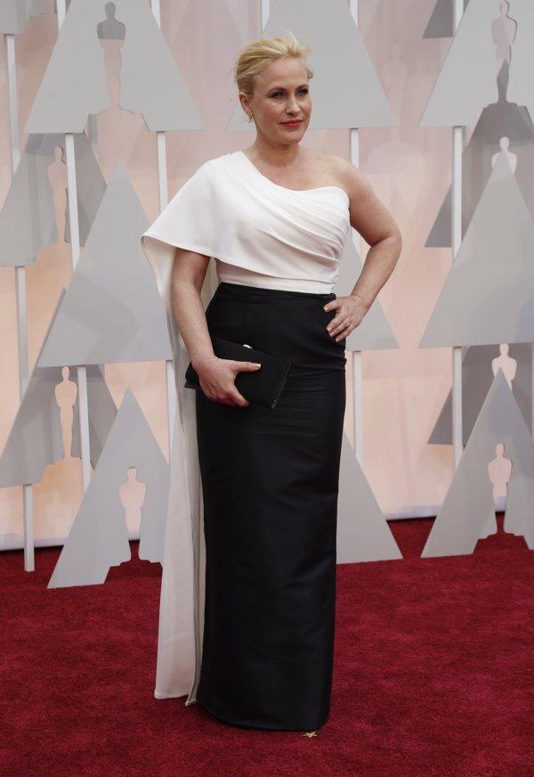 Peores vestidas Oscars Patricia Arquette