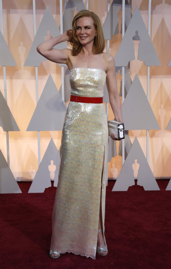 Peores vestidas Oscars Nikole Kidman