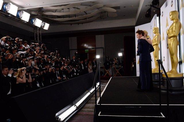 Eddie Redmayne dedicó el Oscar a los enfermos de ELA