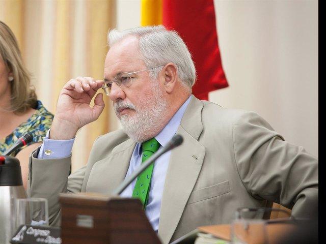Miguel Arias Cañete, ministro de Agricultura y Medio Ambiente