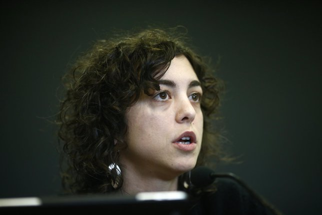 Tania González, eurodiputada de Podemos