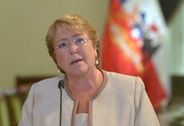 La presidenta chilena, Michele Bachelet