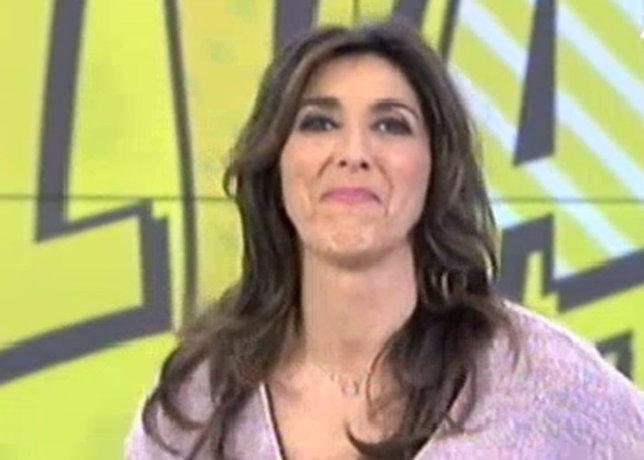 Paz Padilla, muy emocionada,  felicita en directo a su hija Ana