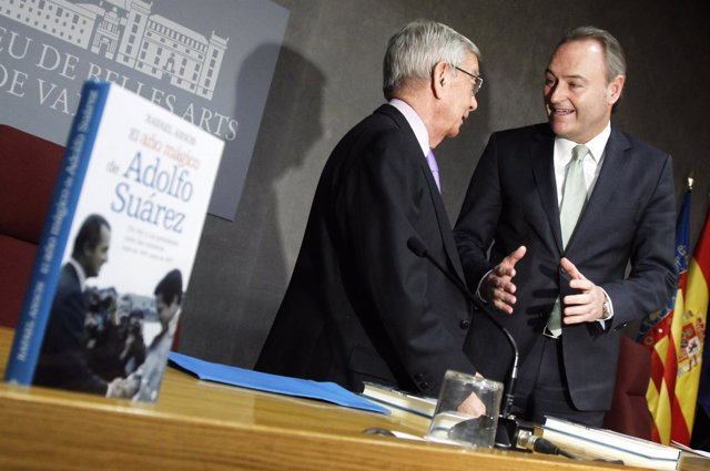 Fabra preside la presentación del libro 'El año mágico de Alfonso Suárez'