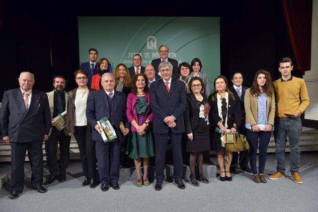 Premiados por el Día de Andalucía en Sevilla