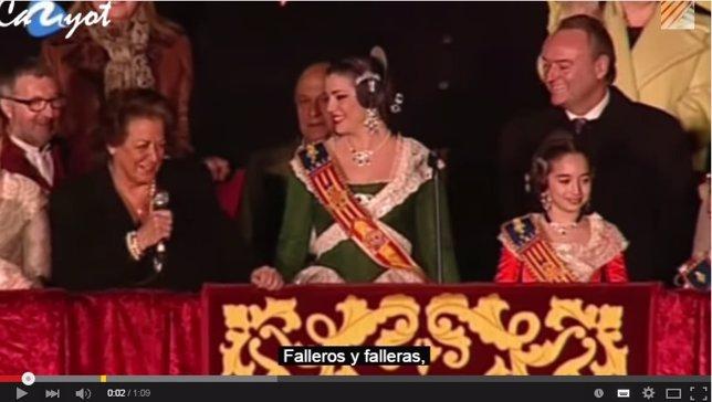 Rita Barberá discurso