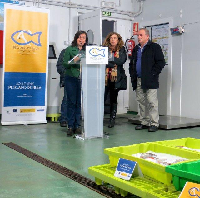 La consejera de Agroganadería, María Jesús Álvarez