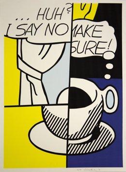 Artista Roy Lichtenstein