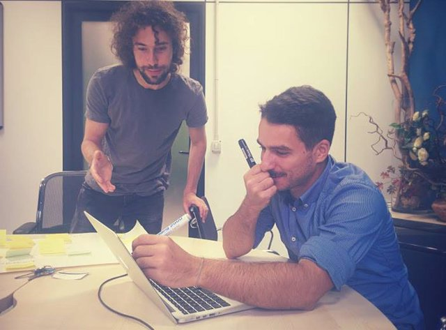 Los diseñadores italianos Andrea Fusaro y Alberto Barone