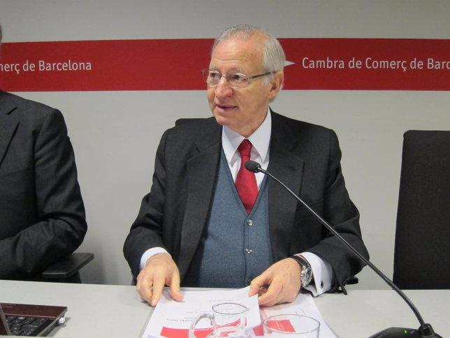 El pte. De la Cámara de Barcelona Miquel Valls