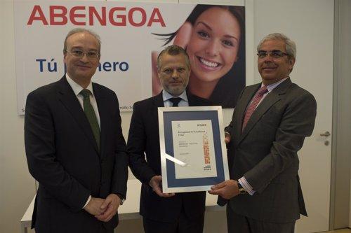 Abengoa recibe el Sello Excelencia Europea 500+ por su gestión en Recursos Human