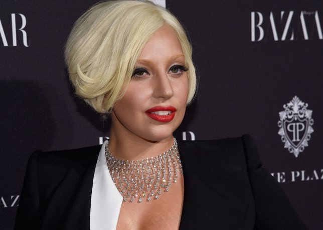 Lady Gaga Attends Moet & Chandon And Belvedere Vod