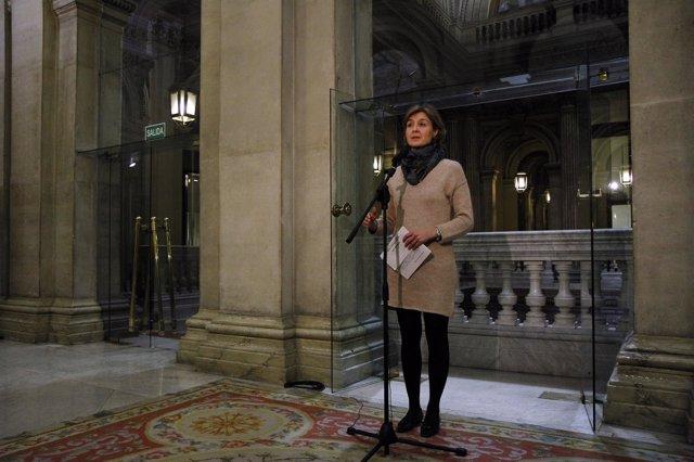 La ministra de Agricultura, Alimentación y M. Ambiente, Isabel García Tejerina