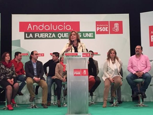 Susana Díaz en Úbeda