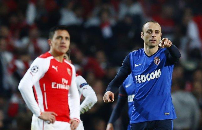 El Arsenal cae con el Mónaco en la Liga de Campeones