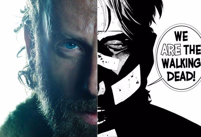 The Walking Dead: El cómic vs la serie en la quinta temporada
