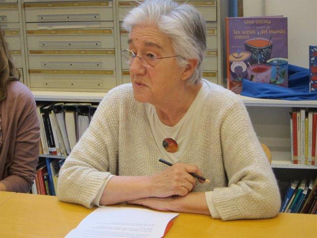 Irene Balaguer, presidenta de la Associació de Mestres Rosa Sensat