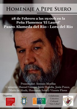 Homenaje a Pepe Suero.