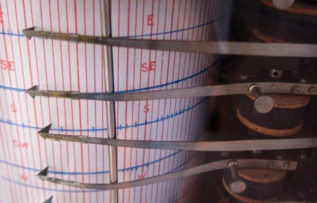 Terremoto, sísmico, seismo, sismo, medición, temblor