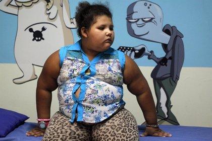 La niña más obesa de Latinoamérica es colombiana