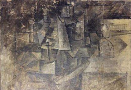 Hallan en un paquete en Nueva York un Picasso robado del Pompidou de París