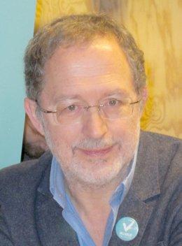 El candidato de Valladolid Toma la Palabra, Manuel Saravia