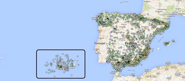 Terremotos en España