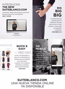 Página web de Suiteblanco