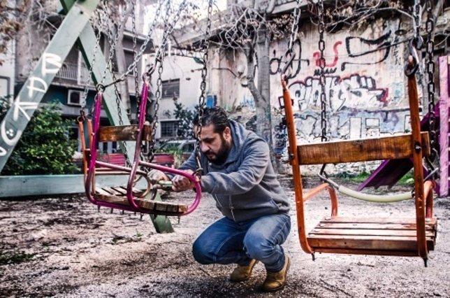 Inmigrante palestino llegado a Grecia