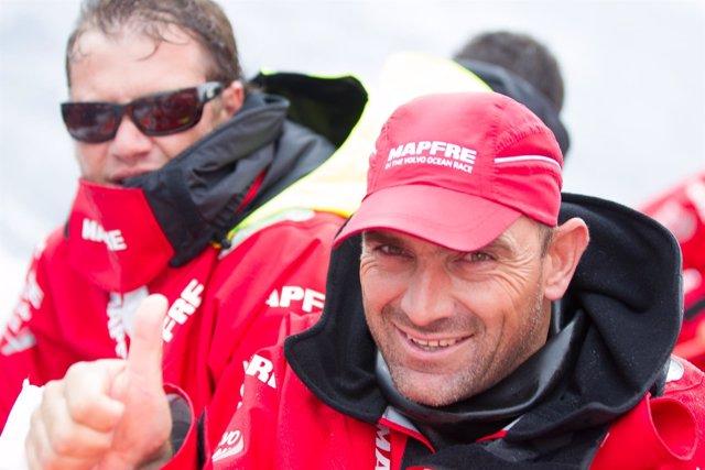 Xabi Fernández VOR Volvo Ocean Race