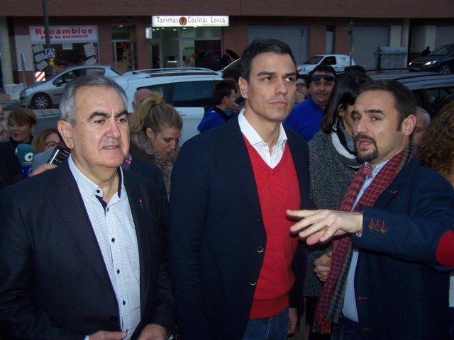 González Tovar, Sáncjez y Mateos, en Lorca
