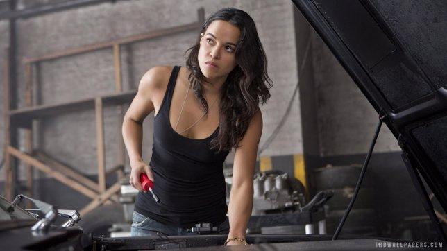 Michelle Rodriguez en Fast & Furious 6