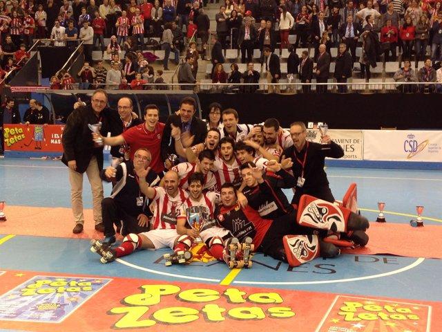 Club Patí Vic campeón Copa del Rey