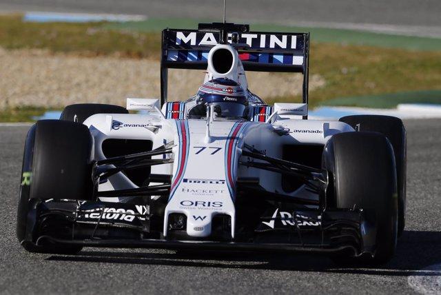 Bottas (Williams), mejor crono en el cierre de la pretemporada