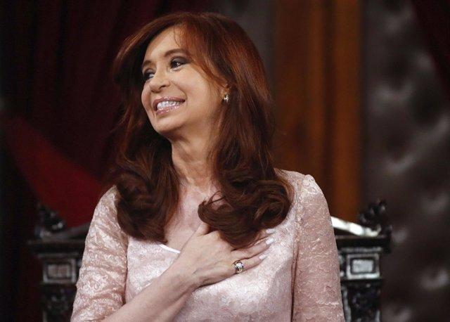 La presidenta argentina, Cristina Fernández de Kirchner