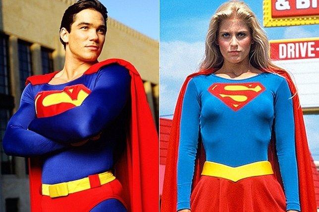 Supergirl ficha a los antiguos Superman y Supergirl