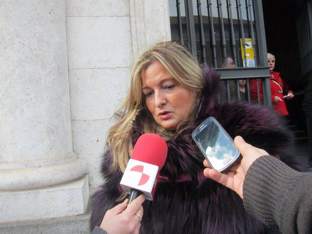 Virginia López Negrete, defensora de la acusada.