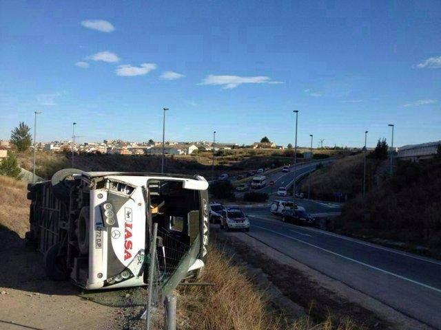 Accidente del autobús en Cehegín