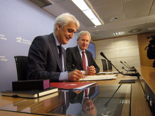 Firma convenio UR y Gobierno para el fomento del deporte