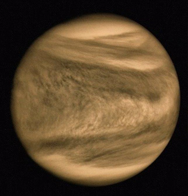 La 'Y' de Venus es una onda distorsionada por el viento