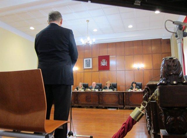 Marcelino Sánchez, en la Audiencia Provincial de Jaén