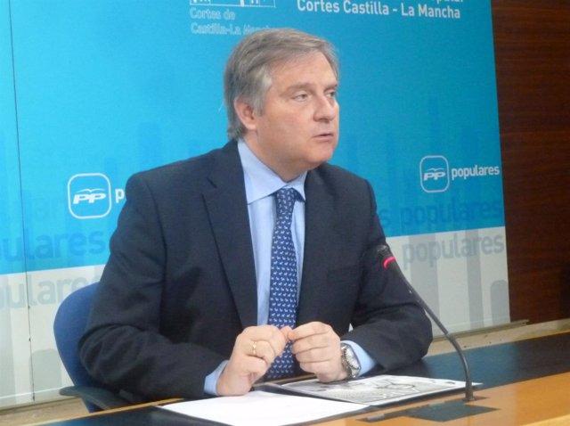 Francisco Cañizares, portavoz del Grupo Parlamentario Popular en las Cortes