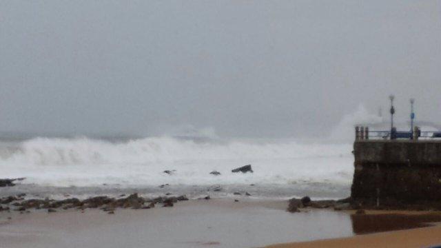Fotos del temporal