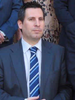El delegado Economía, Innovación, Ciencia y Empleo, José Ignacio Expósito