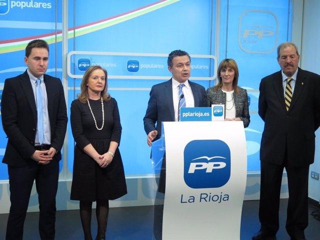 Parlamentarios del PP analizan Debate Estado de la Nación