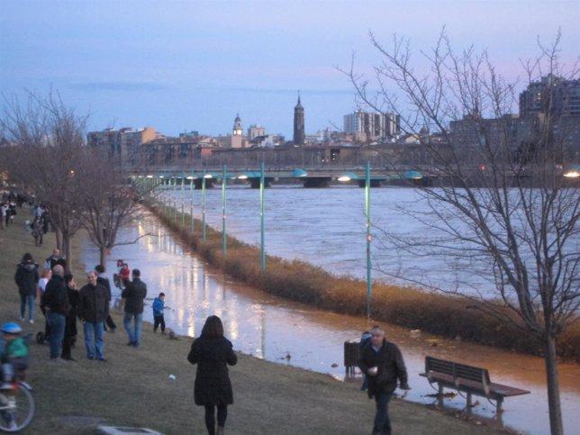 El Ebro, a su paso por la Expo