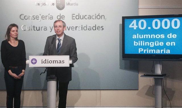 Presentación convocatoria de bilingüe para Primaria