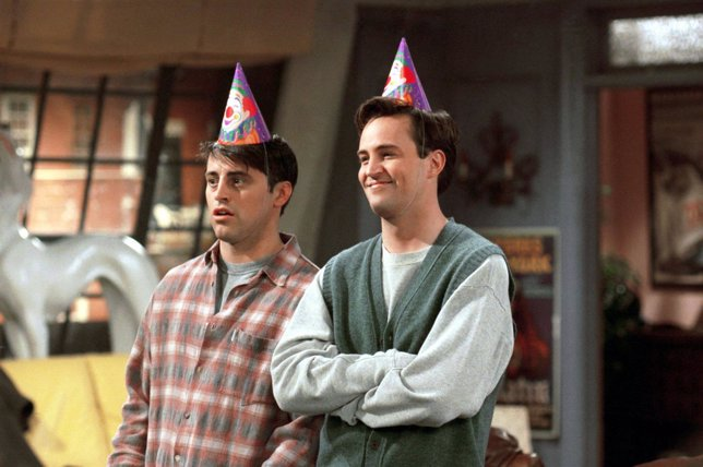 Joey y Chandler