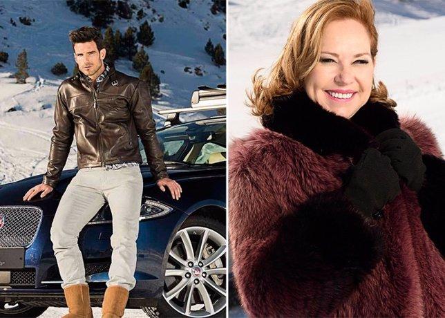 Ana Rodriguez y Aitor Ocio viajan a Andorra para probar los Jaguar AWD