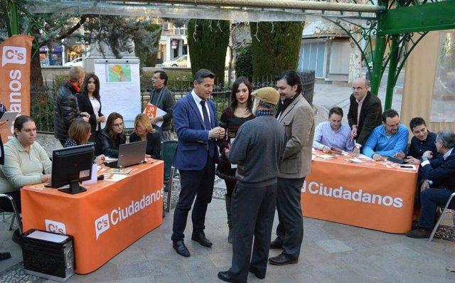 Luis Salvador, de Ciudadanos Granada